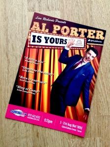Al Porter strikes camp in Edinburgh