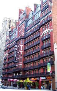 The Chelsea Hotel, New York City, in 2010