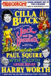 The panto Nigel Crowle wrote for Cilla
