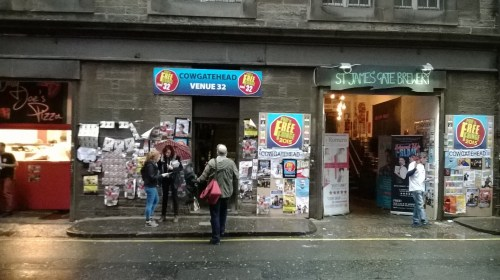 the venues on the Cowgate in Edinburgh (Photo by Frank Galbraith)