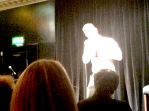 Performing at the Edinburgh Fringe
