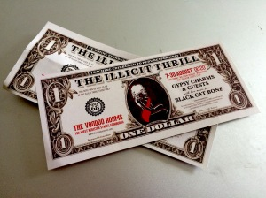 Illicit Thrill dollar bills
