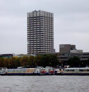 LWT (now ITV) building on the River Thames in London (Photograph by John-Paul Stephenson)