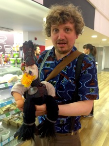 Mr Twonkey and friend yesterday