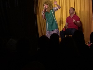 Tina Turner - Tea Lady performs at last night's show