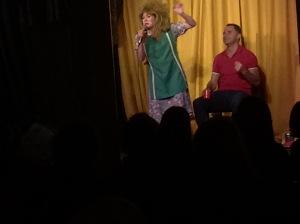 Tina Turner - Tea Lady performs at last night's show
