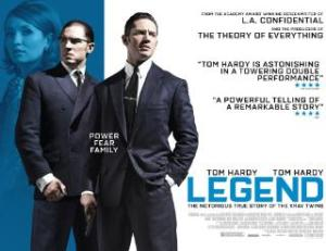 Legend - the movie poster for The Krays