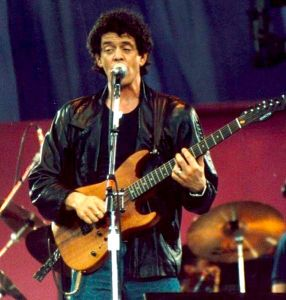Lou Reed in 1986 (Photo Steven Toole