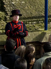 Beefeater Moira Cameron (Photo by Joshd at en.wikipedia)