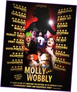 Paul's glorious musical Molly Wobbly's Tit Factory