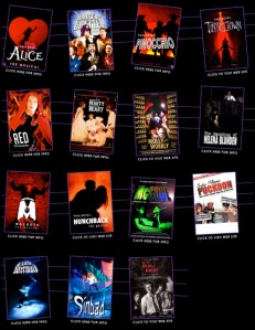 Some of Paul's many musicals