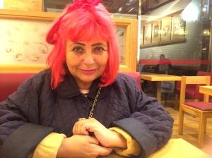 Penny Arcade in Soho yesterday