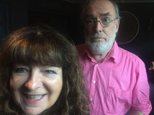 Janey Godley recorded the Grouchy Club podcast yesterday
