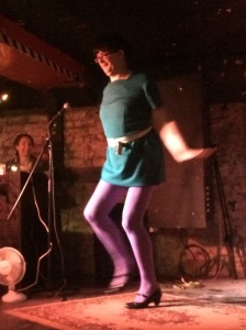 Michael Brunstrom last night - as Mary Quant