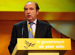 "Norman Baker as a LibDem MP ""in goverment on your side"