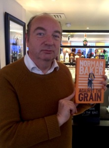 Norman Baker with his latest 'tell-all' book