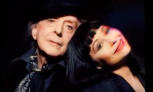 Quentin Crisp with Penny Arcade