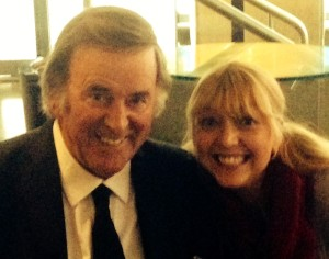 Terry Wogan and Jo Burke