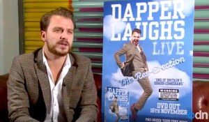 Dapper Laughs in the interview