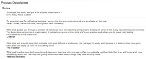 The amazon.co.uk product description