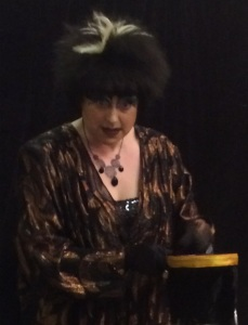Ada Campe performed at the Grouchy Club Live tonight