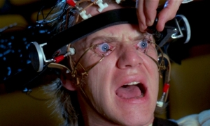 Malcolm McDowell as Alex DeLarge in Clockwork Orange