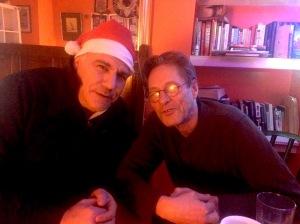Lewis Schaffer (left) and Martin Soan