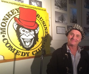 Martin Besserman at Monkey Business yesterday