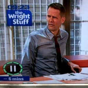 Scott Capurro - a regular on The Wright stuff on UK TV