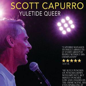 Publicity for Scott Capurro's show Yuletide Queer