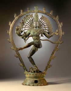 Shiva Najaraja dances the Tandava