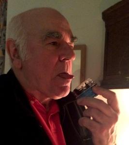 Steve Frost caught in flagrante delicto with capitalist caviar