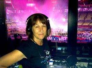 Trish Bertram at the London Olympics