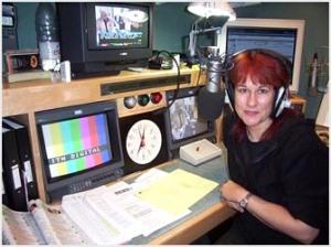 Trish at London Weekend Television