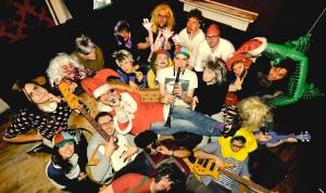 The Weirdos prepare for their Christmas show - and No 1 single