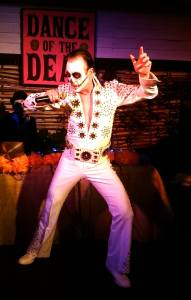 Elvis Corpsely in performance