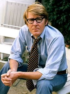 Alan Bennett in 1973 (Photograph by Allan Warren)