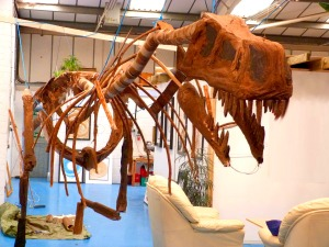 The skeleton of an idea: dinosaur bone making workshops