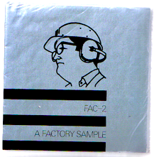 Factory Records' first release: FAC-2