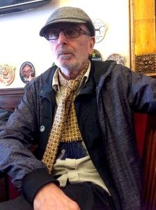 John Dowie talked to me near Euston, London