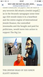 The offending and offensive anti-Semitic piece
