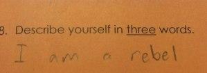 Mike Freedman's definition of himself...