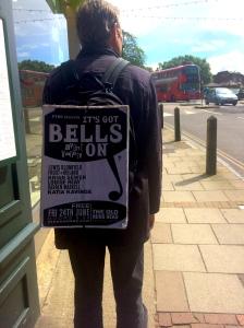 Martin Soan promoting new night It's Got Bells On