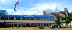The administration block of Kenyatta Hospital