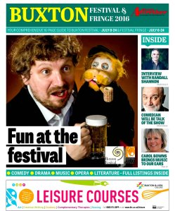 Mr Twonkey was front-page news in Buxton