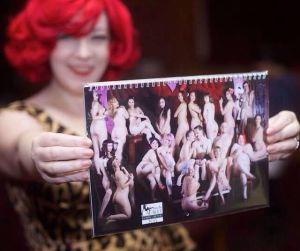 Vive La Variety also sells an all-nude charity calendar