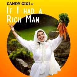 Candy Gigi (with carrots) and a meaty comedy show