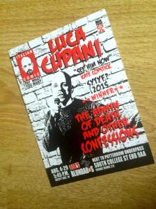 Luca's current show at the Fringe