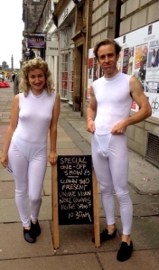 Annie Bashford and Nathan Lang at the Edinburgh Fringe