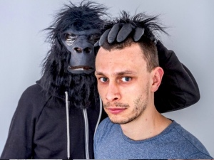 The poster image for Monkey See, Monkey Do